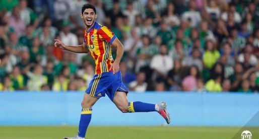 Gonçalo Guedes vol tornar a meravellar en el Benito Villamarín