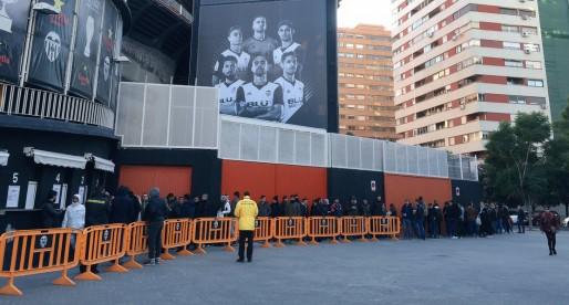 El València implantarà l'accés biomètric per a entrar a Mestalla