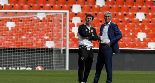Marcelino, amb la ment a l'Athletic i el cor a València