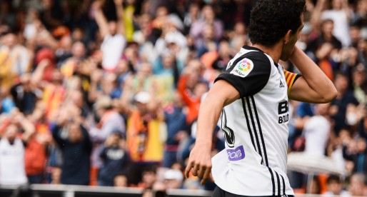 El fill de Dani Parejo canta el 'Amunt València'