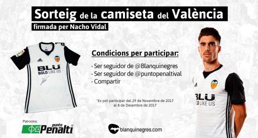 Guanyador Camiseta Nacho Vidal