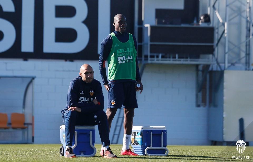 Sense Garay però amb Guillamón, el València ja prepara el duel davant el Celta