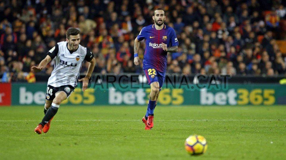 Aleix Vidal, el favorit per al lateral dret