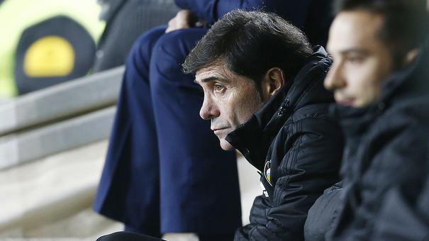 """Marcelino: """"El detall determinant ha sigut passar de l'1-1 al 2-0 en dos minuts"""""""