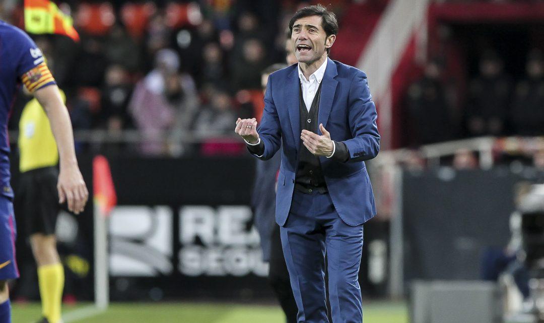 """Marcelino: """"El que no genera dubtes és que el València ha merescut guanyar"""""""