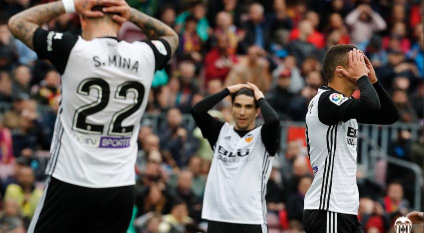 El València perdona al Barça i ho acaba pagant