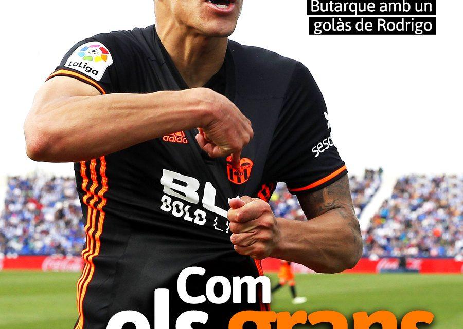 PORTADA Leganés 0-1 VCF
