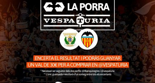 Guanyador Porra Vespaturia Leganés – València CF