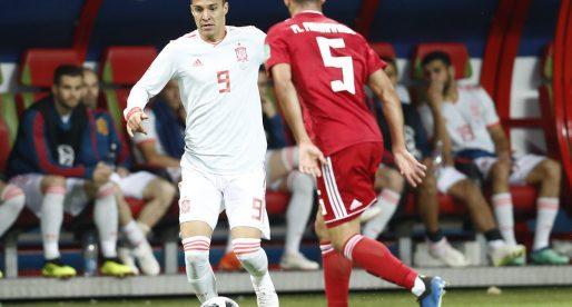Rodrigo debuta en un Mundial en la victòria d'Espanya davant Iran (1-0)