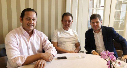 Lim es reunix amb Murthy i Alemany