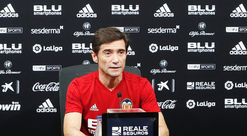 """Marcelino: """"Hem millorat considerablement en els últims partits"""""""