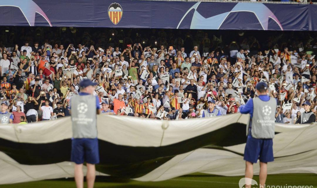 La Champions passa per Mestalla
