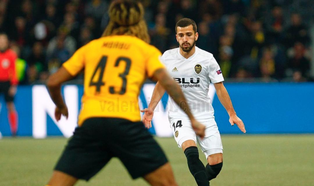 Decebedor València CF a Suïssa (1-1)
