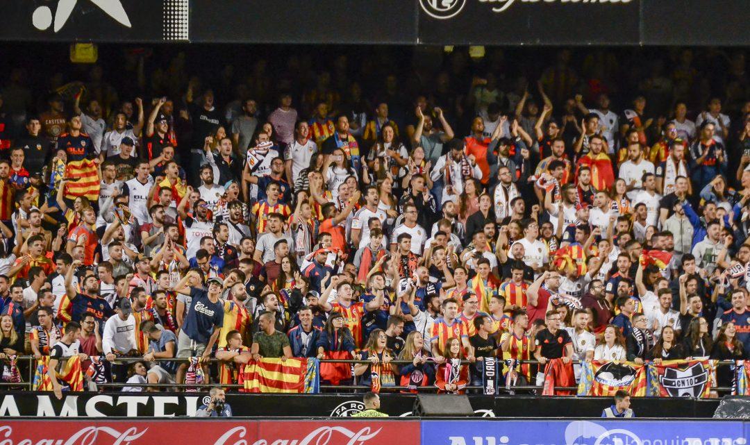 Mestalla, amb el seu equip en este tram inicial de la temporada