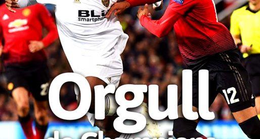 PORTADA Manchester United 0-0 Valencia