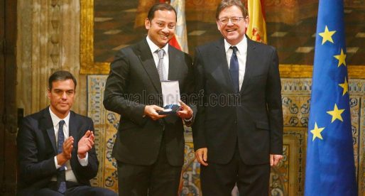 El Valencia CF, guardonat amb la Distinció de la Generalitat en el 9 d'Octubre