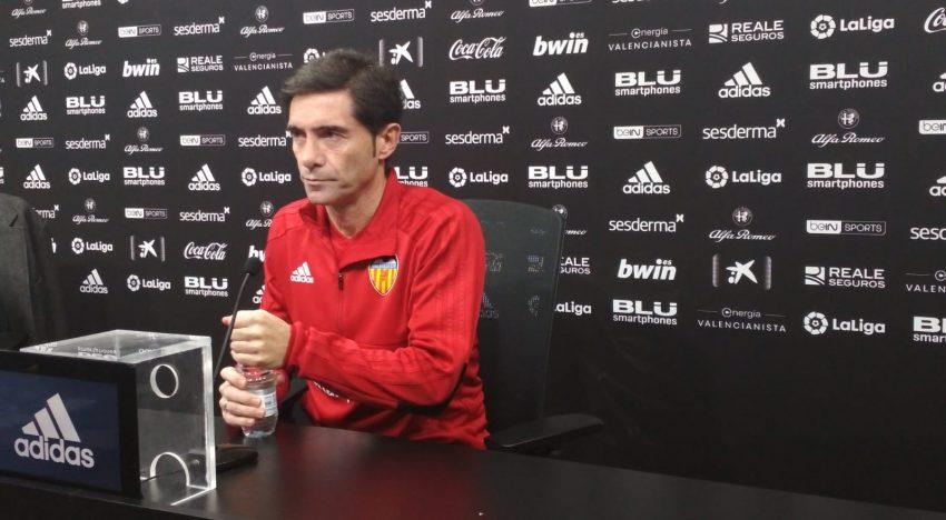 """Marcelino: """"Demà guanyarà l'equip que tinga més encert"""""""