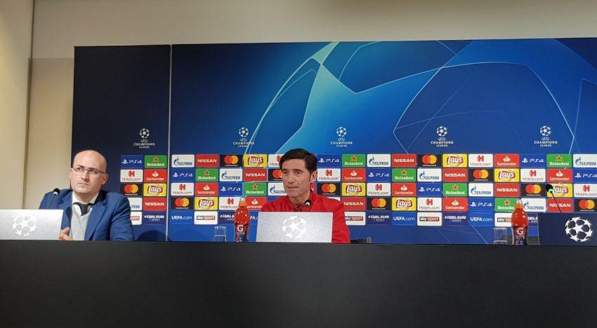 """Marcelino: """"L'única atenció està fixada en demà i guanyar el partit"""""""
