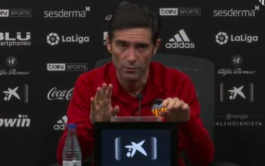 """Marcelino: """"Guedes no està per a jugar tres partits per setmana"""""""