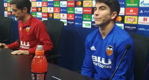 """Marcelino i Carlos Soler parlen en roda de premsa: """"La prioritat aquesta setmana es l'Eibar"""""""