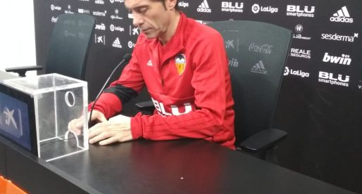"""Marcelino: """"no tinc la sensació de jugarme el lloc de treball els dos próxims partits"""""""