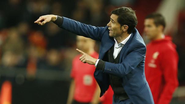 """Marcelino: """"No podem pretendre dominar-los en el seu camp els 90 minuts i guanyar fàcil"""""""