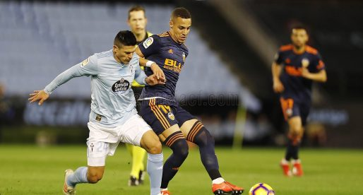 CRÒNICA: El València CF remunta i guanya al Celta amb gol de Ferran i Rodrigo