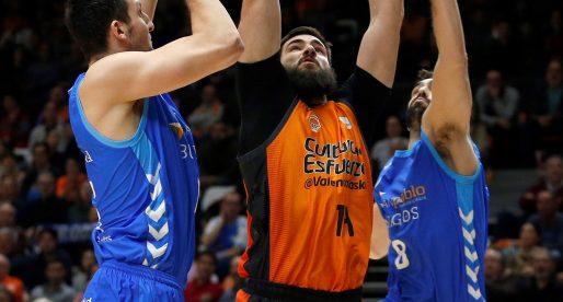 València Basket sua sang per a guanyar a San Pablo Burgos
