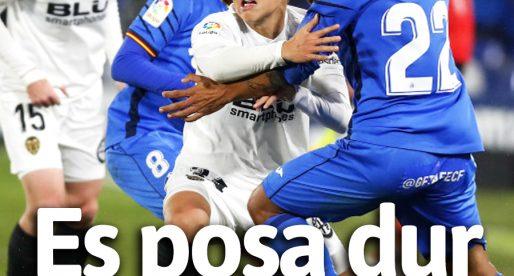 PORTADA Getafe 1-0 VCF