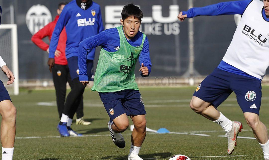 Kang In, convocat amb la selecció Absoluta de Corea