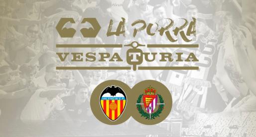 Guanyador Porra Vespaturia  València CF – Valladolid