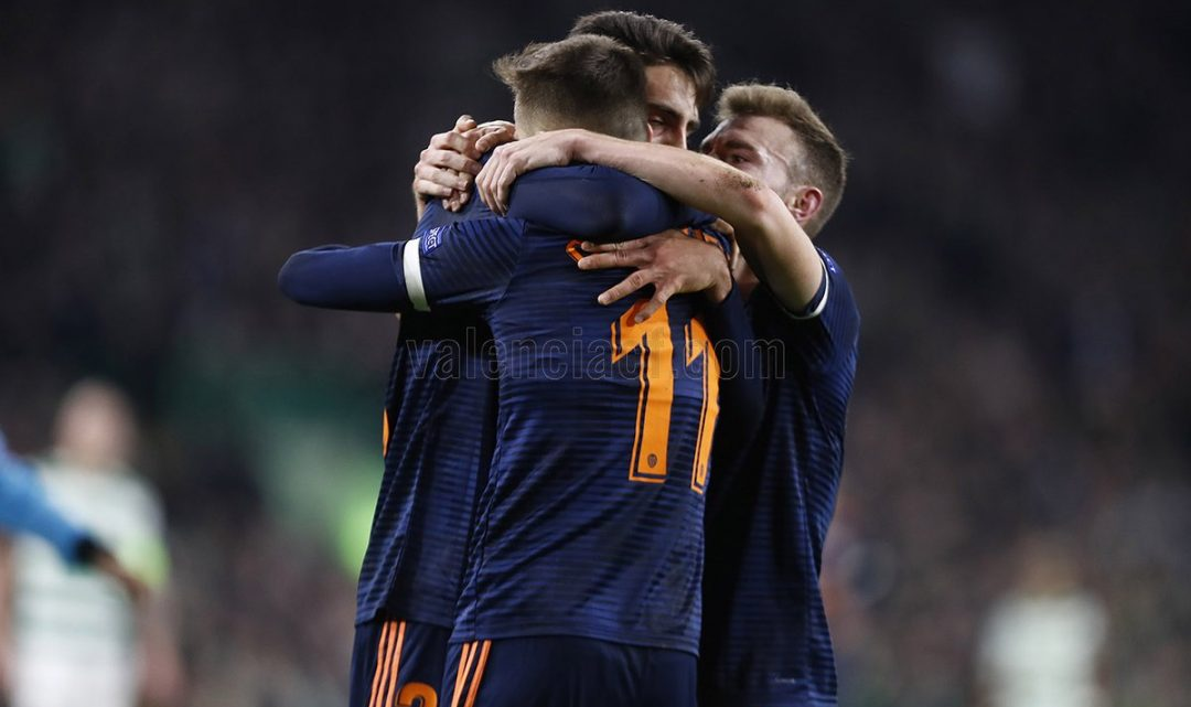 CRÒNICA: Cheryshev i Sobrino encarrilen l'eliminatòria davant el Celtic de Glasgow (0-2)
