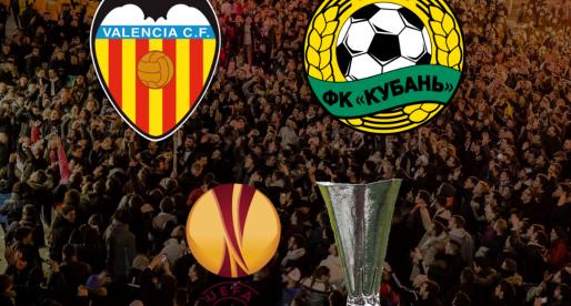 El Krasnodar rival del València CF en els huitens de final de l'Europa League