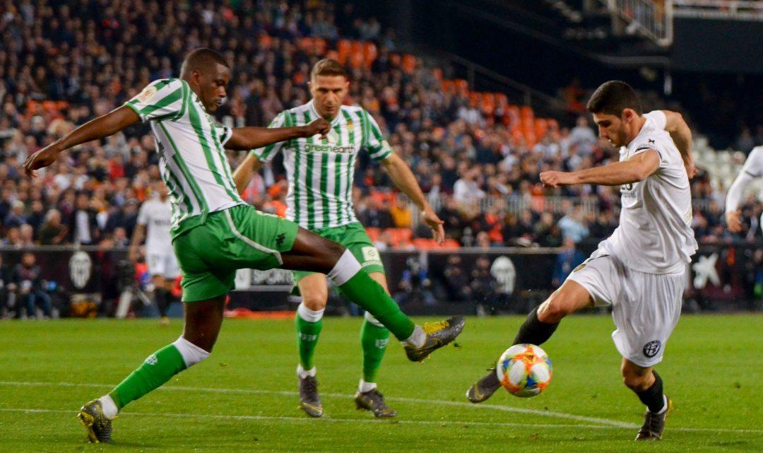El València jugarà la final de Copa del Rei després de guanyar al Betis