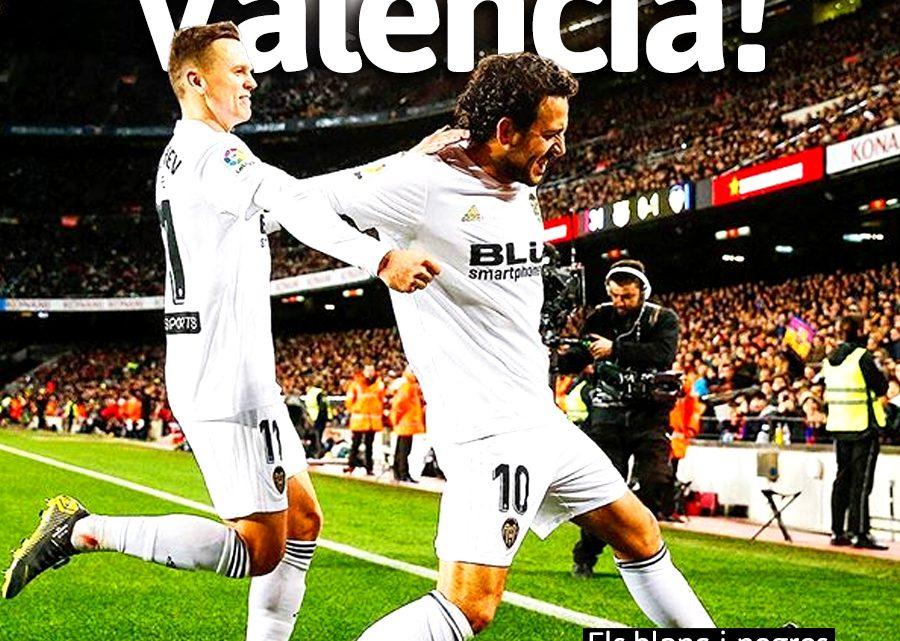 Portada Barça 2-2 VCF
