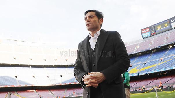 """Marcelino: """"Estic orgullós dels jugadors"""""""