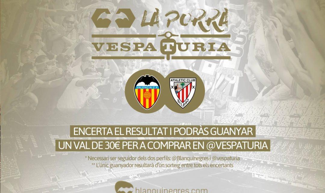 Guanyador Porra Vespaturia València CF 2 – Athletic 0