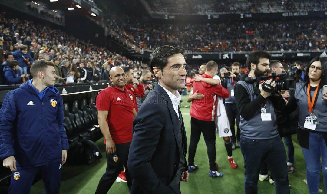 """Marcelino: """"No hem fet res diferent per a guanyar hui al que ferem davant l'Espanyol o la Real"""""""