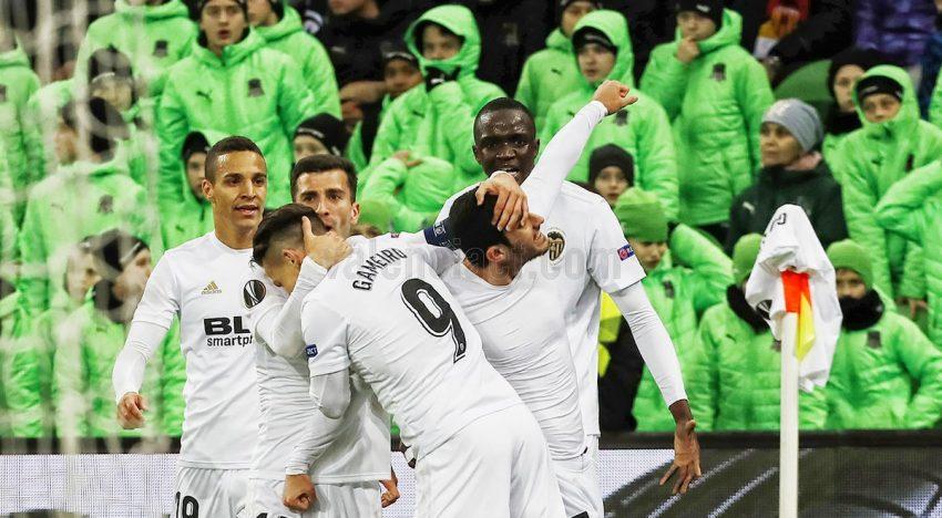 CRÒNICA: Guedes salva al VCF en l'últim sospir i passa als quarts d'Europa League