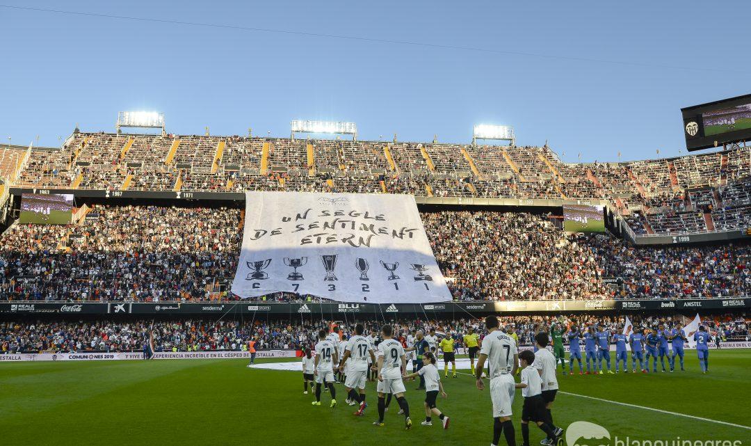 Més d'un milió d'aficionats han passat ja per Mestalla esta temporada