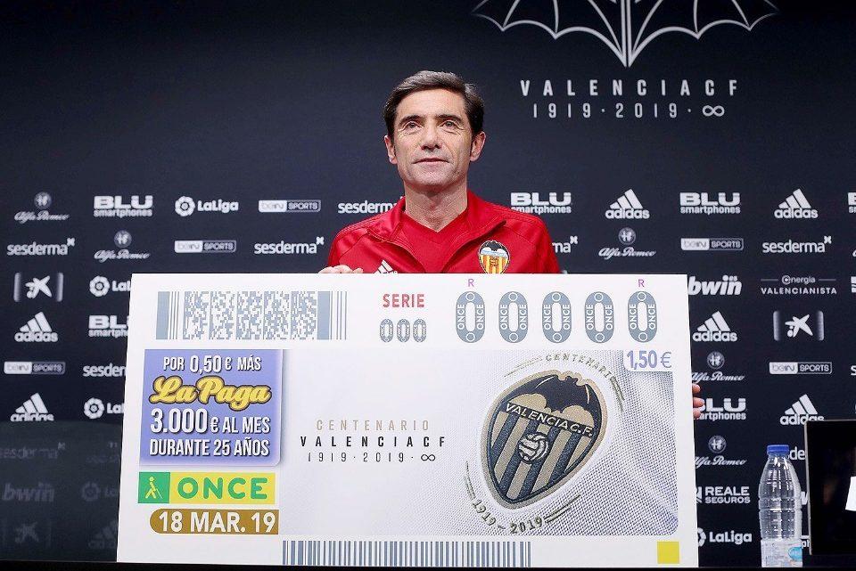 5.5 milions de cupons de l'ONCE per a homenatjar el Valencia CF en el seu Centenari