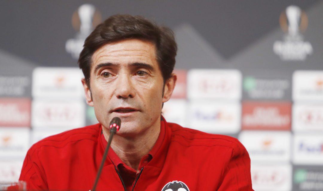 """Marcelino: """"Que ens marquen tres gols no és gens fàcil"""""""