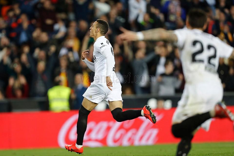 """Rodrigo: """"Ha sigut un dels meus gols més bonics"""""""