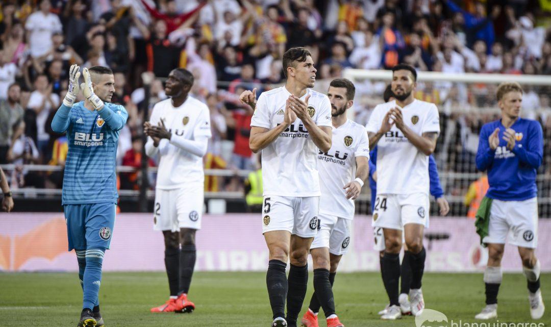 Amb 35 punts, el Valencia CF ja ha realitzat la 4ta segona millor volta des de 1996