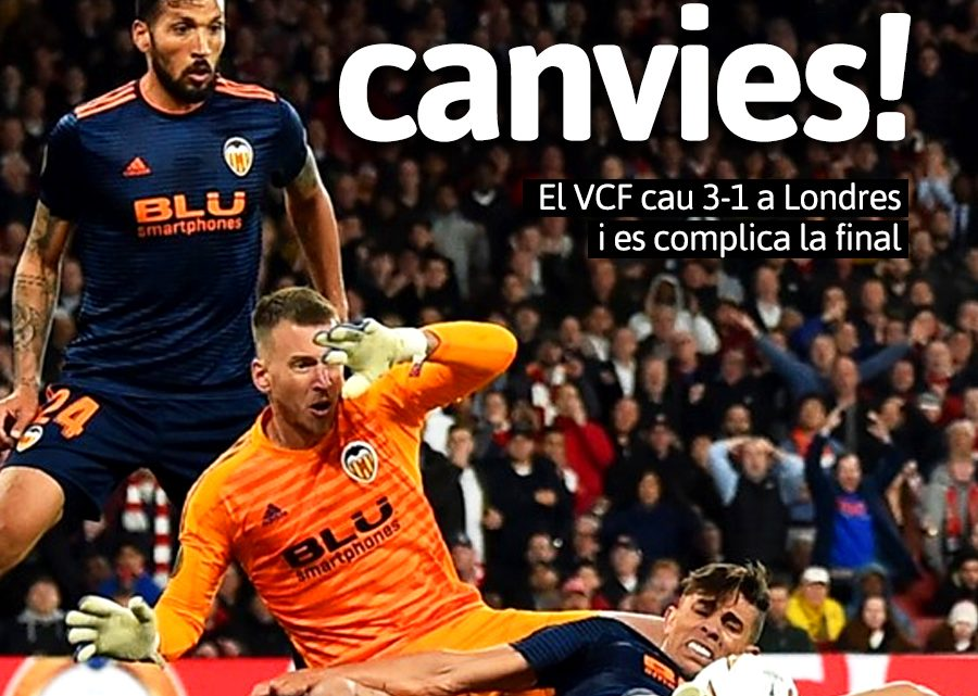 Portada Arsenal 3-1 VCF