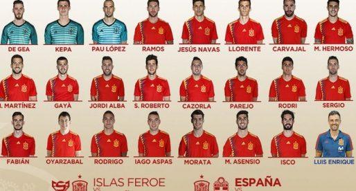 Gayà, Rodrigo i Parejo repetixen amb La Roja