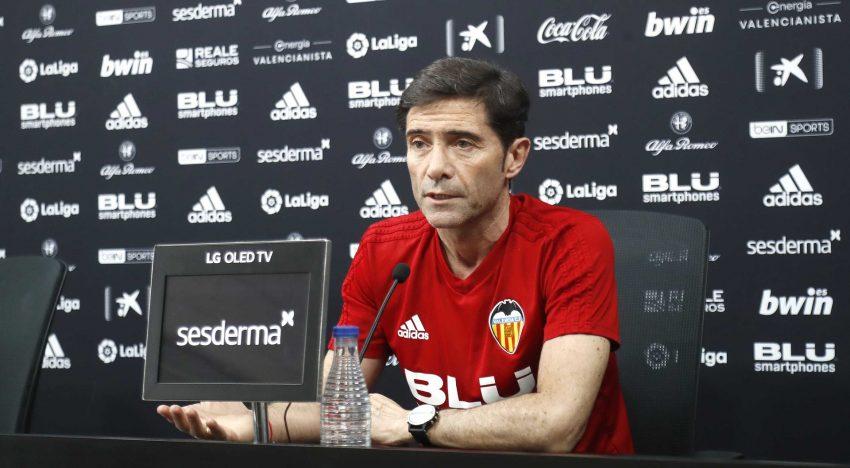 """Marcelino: """"Hem de mirar cap avant, ser optimistes i ambiciosos per a posar un gran colofó a la temporada"""""""