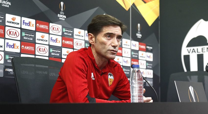 """Marcelino: """"Tindrem més possibilitats si Mestalla està amb nosaltres fins al final"""""""