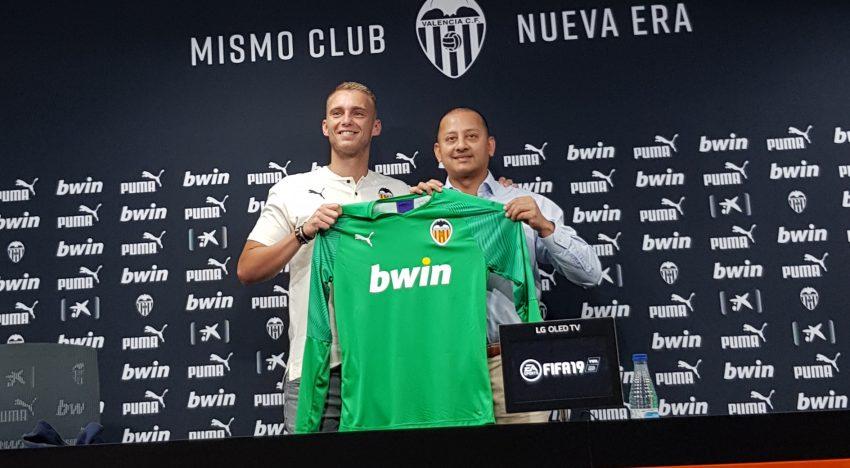 """Cillessen: """"Vindre al València és un pas endavant"""""""