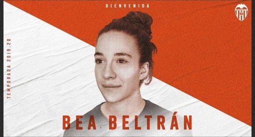 Bea Beltrán firma pel València Femení